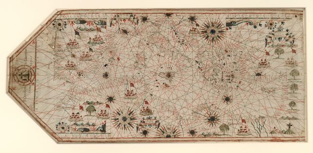 [Chart of the Mediterranean, the coast of Portugal, and the northwest coast of Africa] /