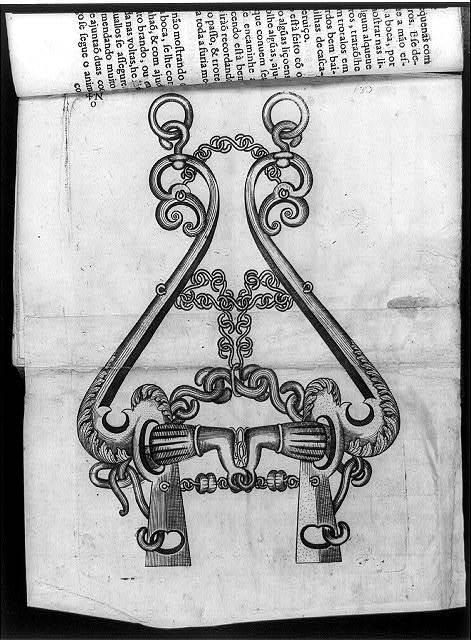 [Ornate horse bit - opp. p. 134]