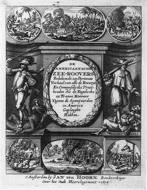 [Title page illus. with scenes of piratical barbarity]