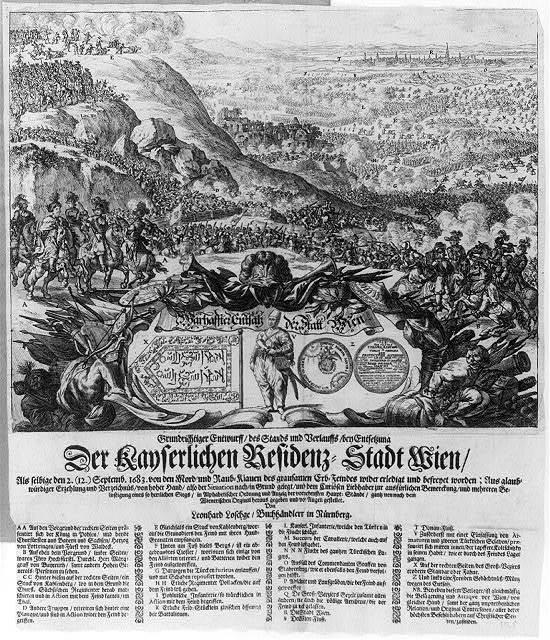 Der kayserlichen residenz - stadt Wien / von Leonhard Loschge, buchhændlern in Nürnberg.