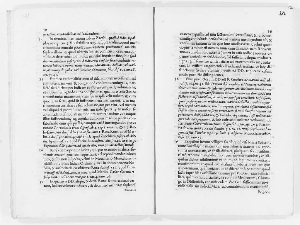 Judgment of April 22, 1681 issued by Reverend José Molines after consultation with the Archbishop of the city of Barcelona, concerning the validity of the marriage between Antonio Ravella and María Sadurni y Ravella