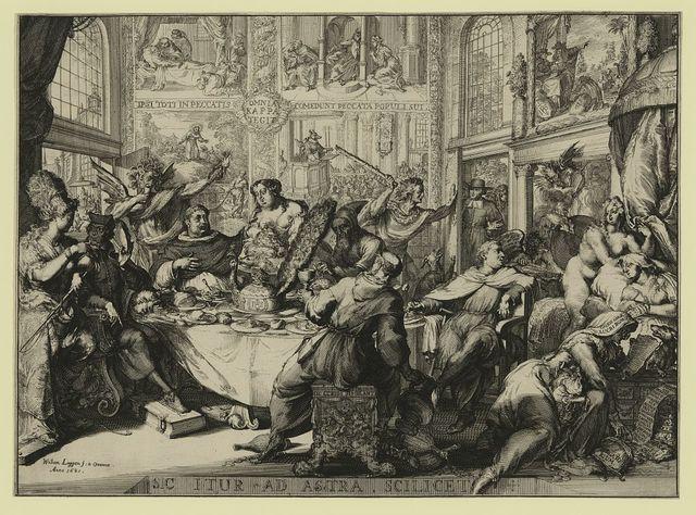 Sic itur ad astra scilicet / William Loggan f. & Oxonia, anno 1681.