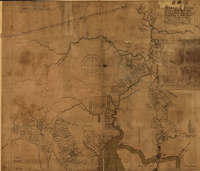 A map of Rariton River, Milstone River, South River ... (1685)