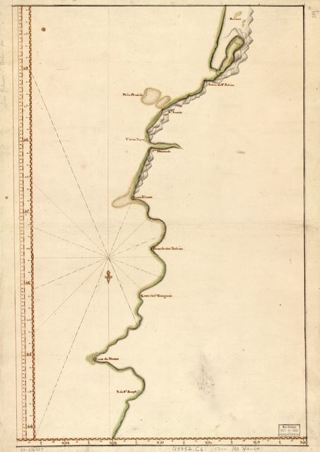 [Map showing coast of Argentina from 44⁰05ʹS to 49⁰52ʹS : Union Point to Port San Julián].