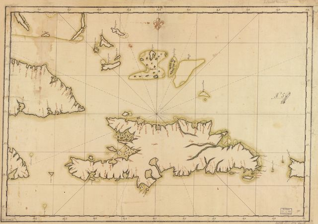 [Map showing Hispaniola, eastern portions of Cuba and Jamaica, western portion of Puerto Rico, and other adjacent islands].