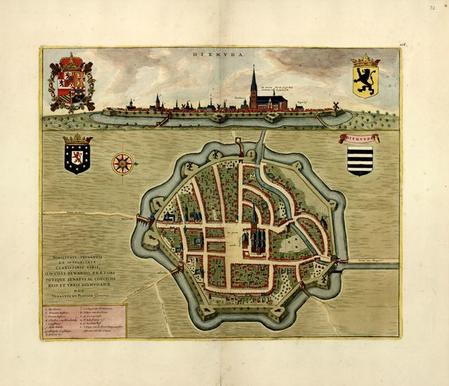 A collection of plans of fortifications and battles, 1684-1709 : [Europe] /