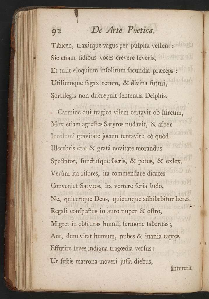 The art of cookery, in imitation of Horace's Art of poetry : with some letters to Dr. Lister and others, occasion'd principally by the title of a book publish'd by the doctor, being the works of Apicus Coelius concerning the soups and sauces of the antients ... : to which is added Horace's art of poetry, in Latin