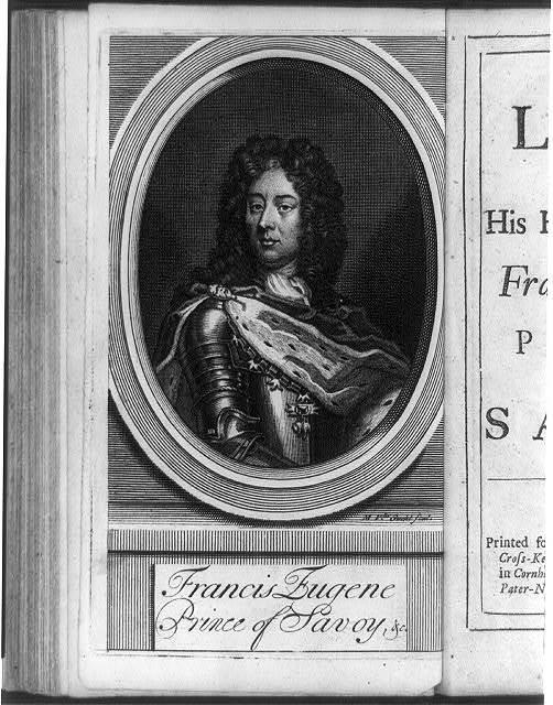 Francis Eugene, Prince of Savoy, &c. / M.V. der Gucht, fecit.