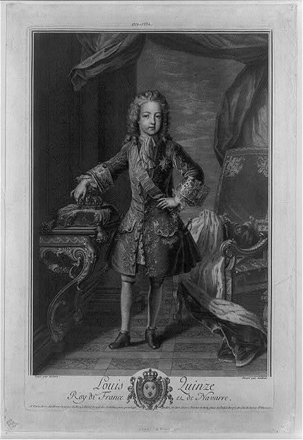 Louis Quinze--Roy de France et de Navarre