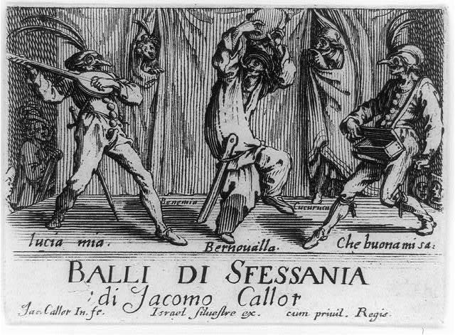 Balli di Sfessania 'di Jacomo Callot / Jac. Callot, in., fe.