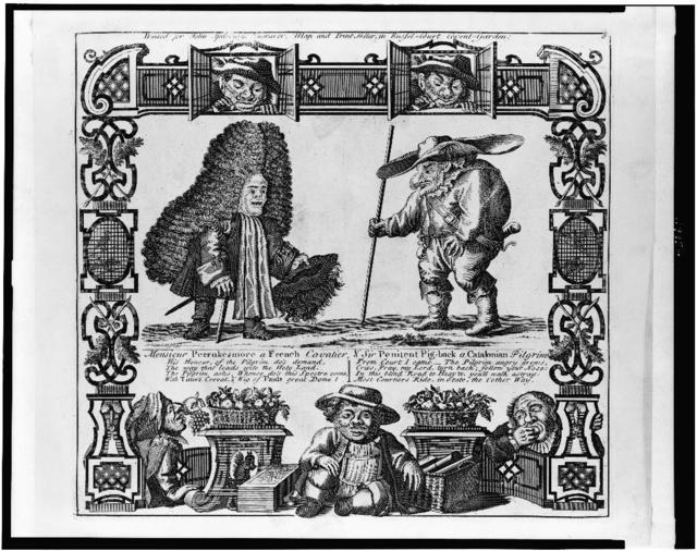 Monsieur Perrukesmore a French cavalier, & Sir Penitent Pig-back a Catalonian pilgrim