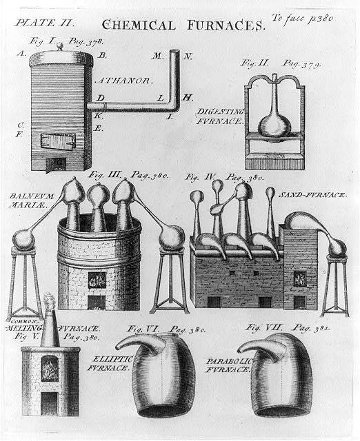 Chemical furnaces