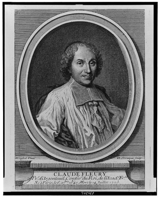 Claude Fleury / Roussel pinx. ; D. Sornique sculp.