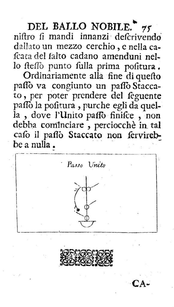 Trattato del ballo nobile,