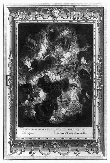 The chaos / B. Picart, dir. ; A. Diepenbeck, fig. ; B. Picart, del. 1731.