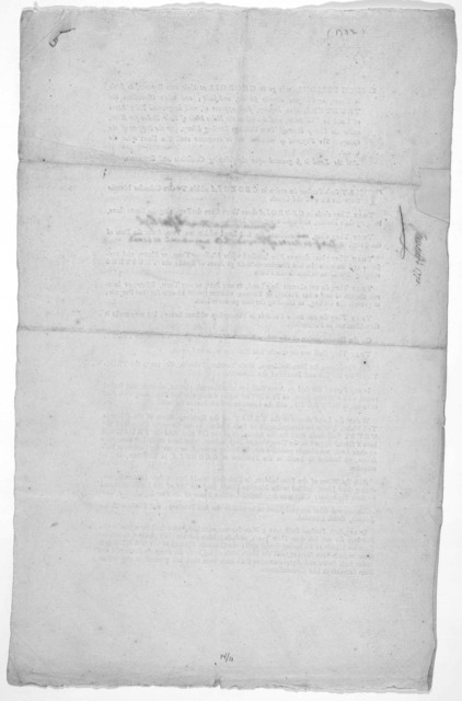 To such persons, who go to Georgia, at their own expence, to settle in towns, or villages, already set out, and built; and whose characters the trustees, upon inquiry, shall approve of, will be granted fifty acres of land in tail male, and desce
