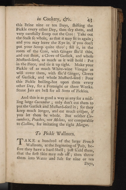 Collection of above three hundred receipts in cookery, physick ...