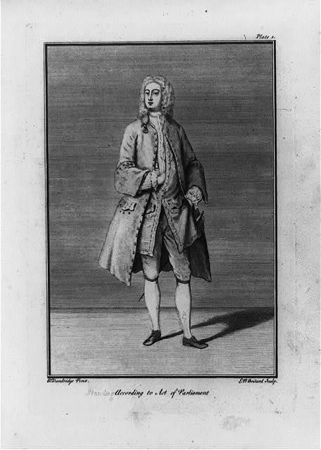 Standing / B. Dandridge pinx ; L.P. Boitard, sculp.