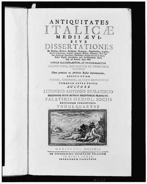 [Title page with vignette of allegorical scene]