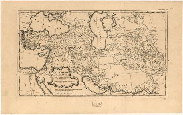 L'expedition d'Alexandre : pour l'Histoire Ancienne de Mr. Rollin /