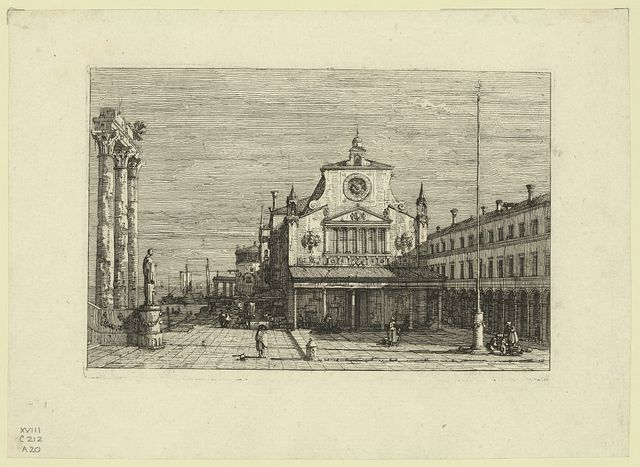 [Imaginary view of S. Giacomo di Rialto]