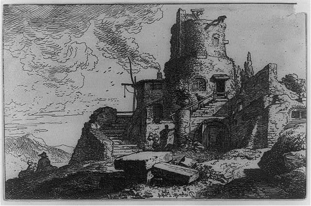 [Castle in ruins]