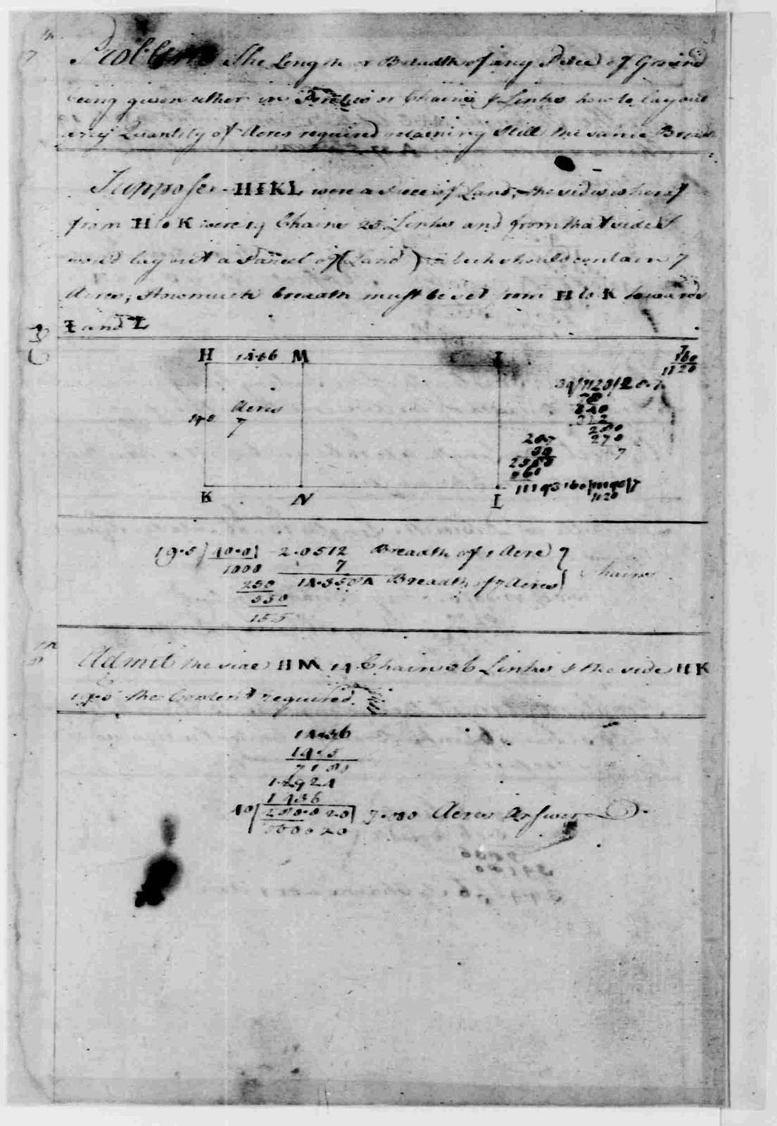 George Washington Papers, Series 1, Exercise Books, Diaries, and Surveys 1745-99, Subseries 1A, Exercise Books 1745-1747: School Copy Book, Volume 2, 1745
