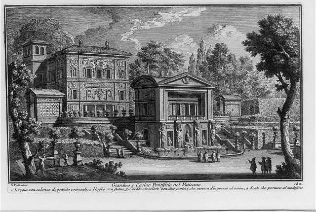 Giardino e Casino Pontificio nel Vaticano