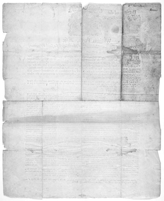 Province of the Massachusetts-Bay. William Foye, Esq; treasurer & receiver-general for His Majesty's said province. To [blank] constable and collector of the town of Greeting, &c. … given under my hand and seal at Boston, the first day of Novemb