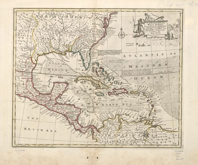 An accurate map of the West Indies. Drawn from the best authorities, assisted by the most approved modern maps and charts, and regulated by astronomical observations.