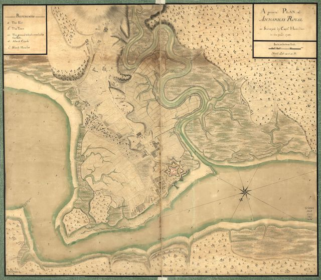 A general plan of Annapolis Royal