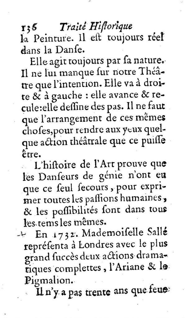 La danse ancienne et moderne, ou Traité historique de la danse.