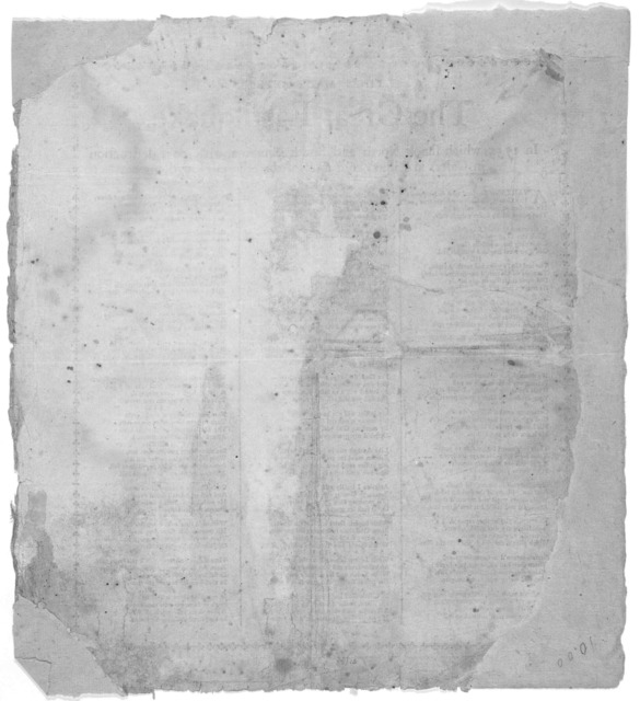 Lines made after the great earthquake, in 1755, which shook North and South America, with great destruction in Cales, in Lisbon and most of the adjacent kingdoms. [Boston 1755].