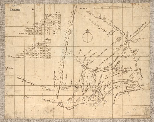 Mr. Armstrong's rough draft of the country to the west of Susquehanna.