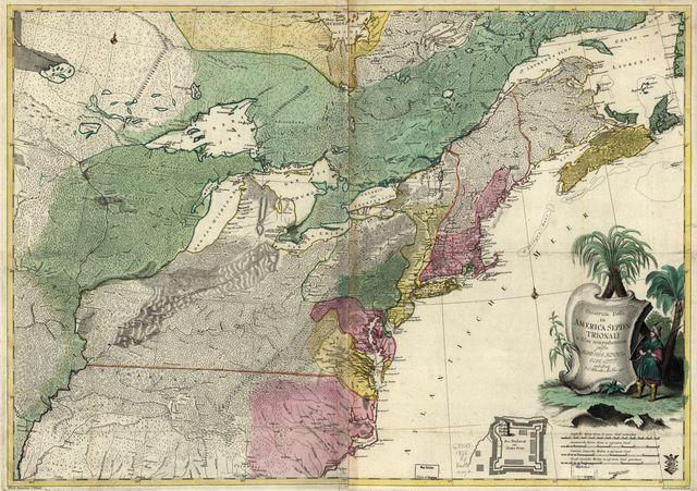 Theatrum belli in America Septentrionali.
