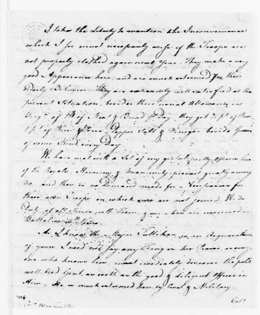 George Washington Papers, Series 4, General Correspondence: George Mercer to George Washington, August 17, 1757