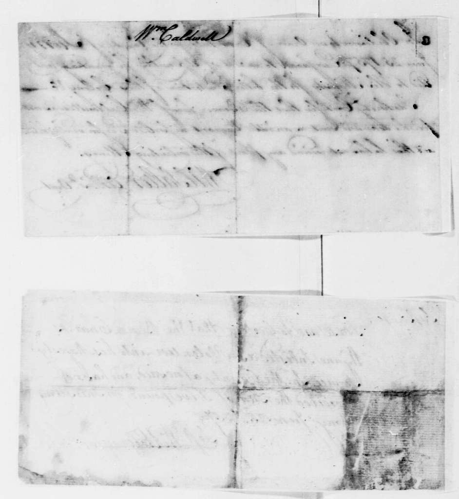 George Washington Papers, Series 4, General Correspondence: William Salter to William Caldwell, June 25, 1757, Enlistment Certificate