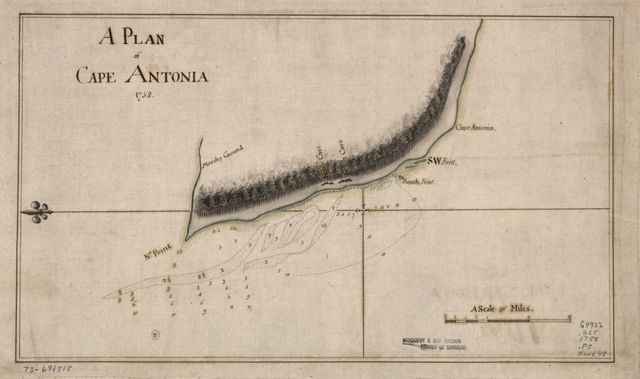 A Plan of Cape Antonia.