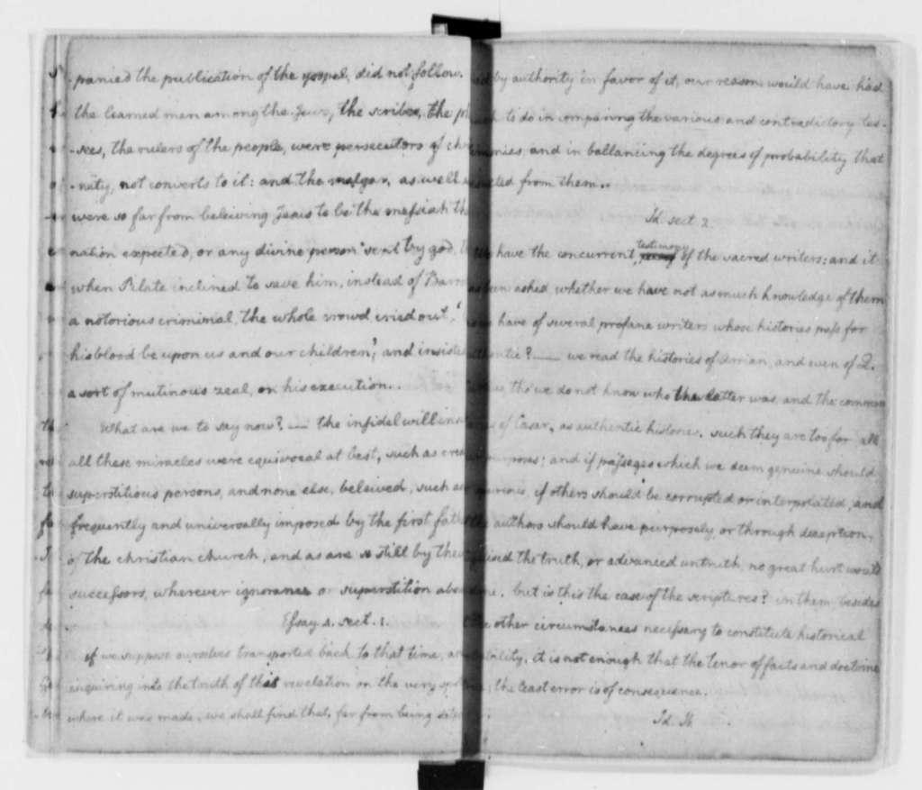 Thomas Jefferson, 1758-1772, Literary Commonplace Book