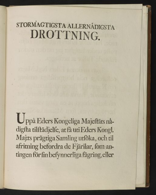 Caroli Clerck, Reg. Soc. Scient. Upsal. membr., Icones insectorum rariorum : cum nominibus eorum trivialibus, locisqve e C. Linnaei ... Syst. nat. allegatis.
