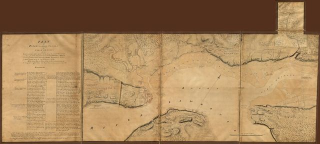 Plan of Quebec, the capital of Canada in North America, with the bason and part of the adjacent contry [sic] shewing the principal encampments and works of the British Army commanded by Maior General Wolfe and those of the French Army commanded by Lieut. General, the Marquis of Mont Calm during the siege of that place in 1759.