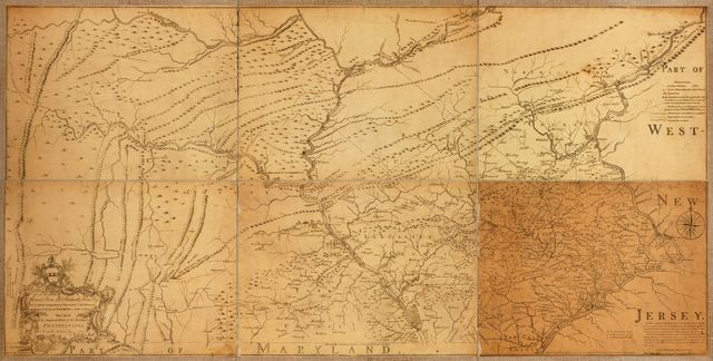 To the Honourable Thomas Penn and Richard Penn, Esqrs., true & absolute proprietaries & Governours of the Province of Pennsylvania & counties of New-Castle, Kent & Sussex on Delaware this map of the improved part of the Province of Pennsylvania. /