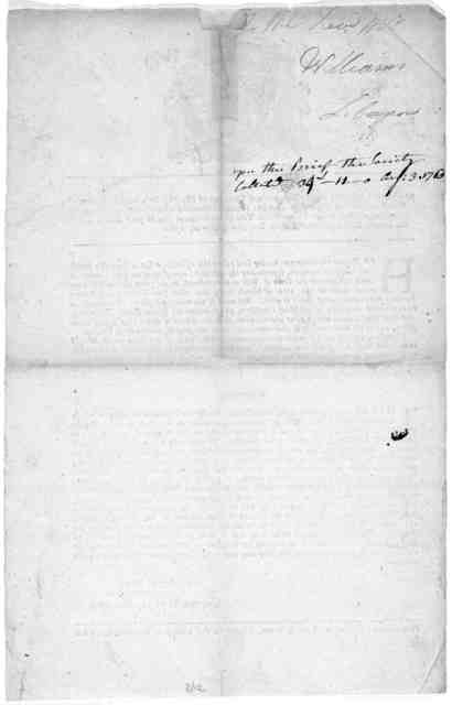 At a General Assembly of the Governor and company of His Majesty's English Colony of Connecticut, in New-England, in America, holden at Hartford in said colony, on the second Thursday of May, in the thirty-third year of the reign of His Majesty