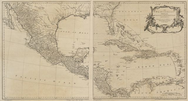 The West Indies exhibiting the English, French, Spanish, Dutch & Danish settlements.