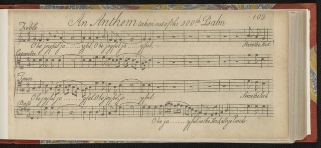 Urania, or A choice collection of psalm-tunes, anthems and hymns
