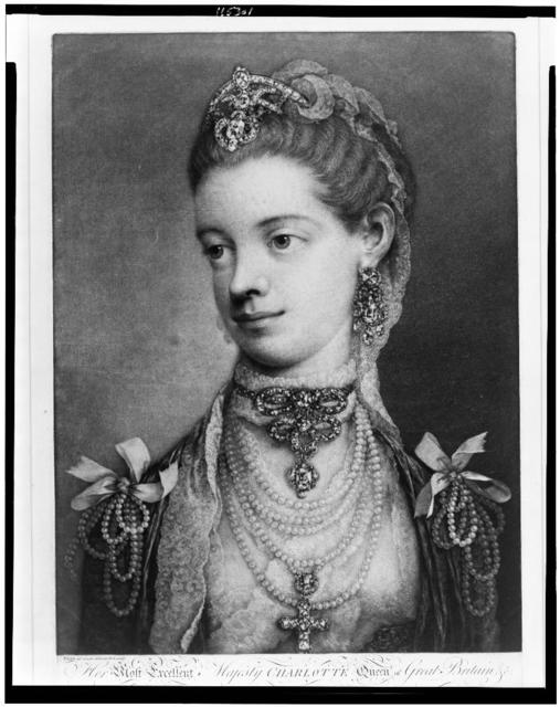 Her most excellent majesty Charlotte Queen of Great Britain / Frye ad vivum delineavit et sculp.