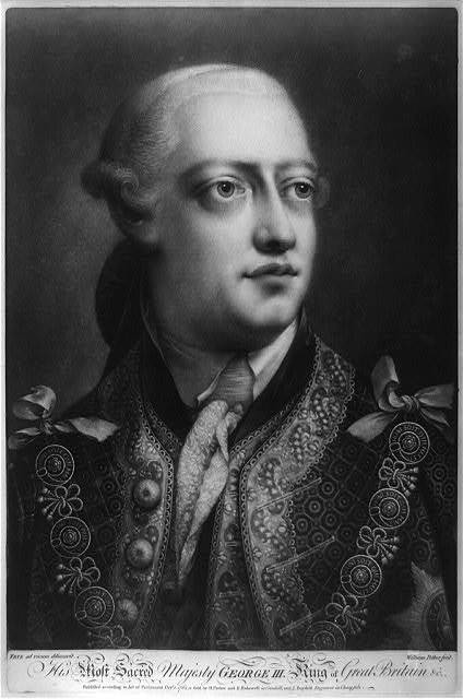 His most sacred majesty George III, King of Great Britain, etc. / / Frye ad vivium delineavit, William Pether, fecit.