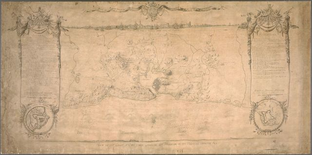 Plan of the siege of the Havana surrenderid [sic] Aug. 12, 1762 to the English commanded by the Earl of Albemarle General and Sir George Pococke K.B. Admiral  /