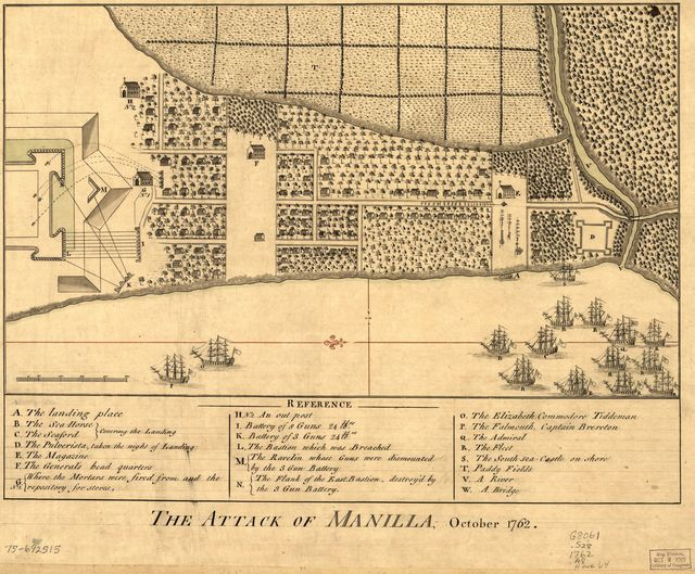 The Attack of Manilla, October 1762.