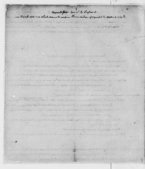 Thomas Jefferson, 1762, Early Law Notes